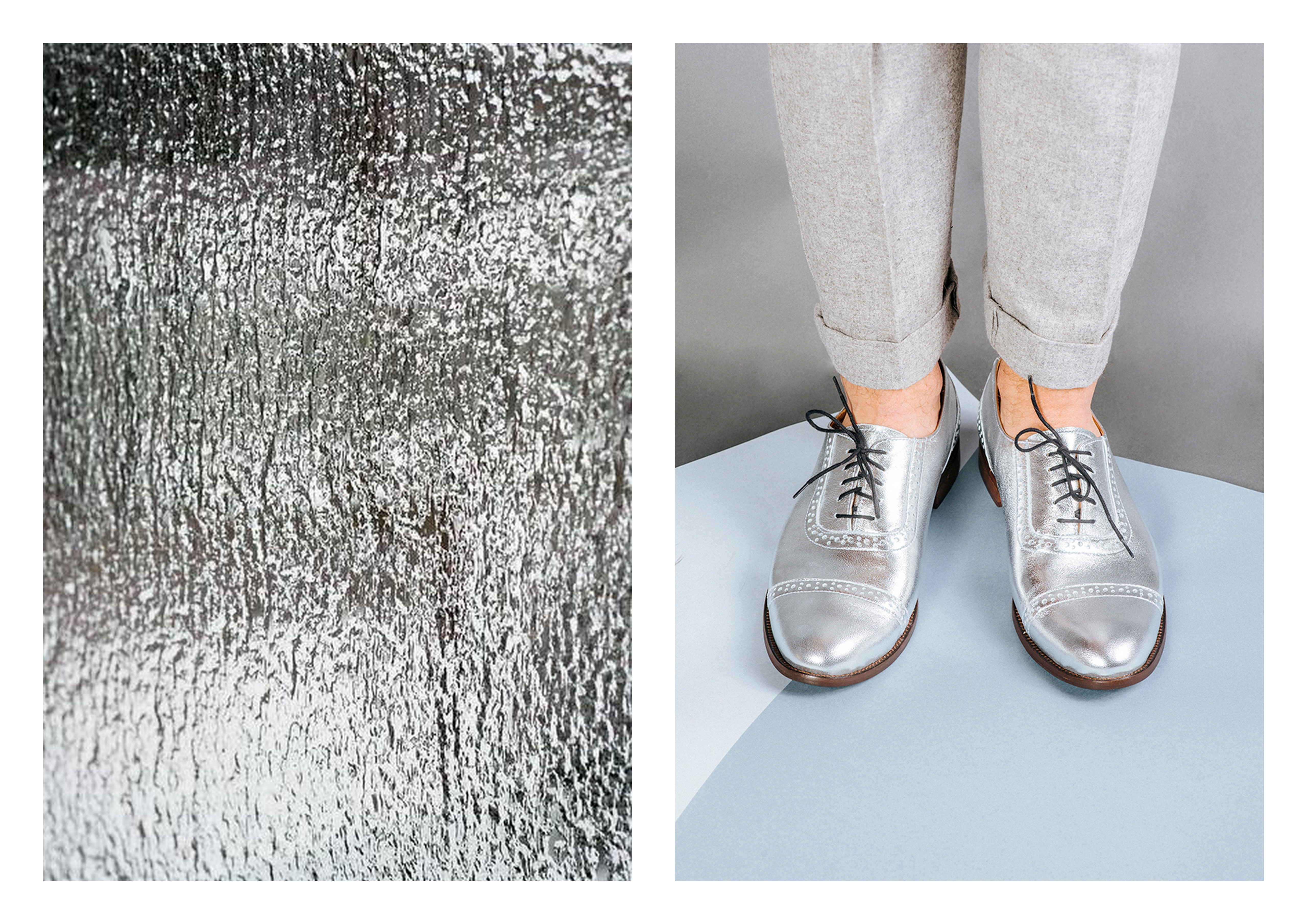 so much more.shoes SILVER 03