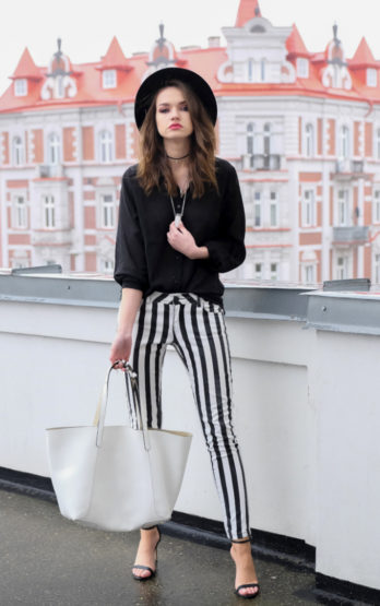 Monochrome stripes